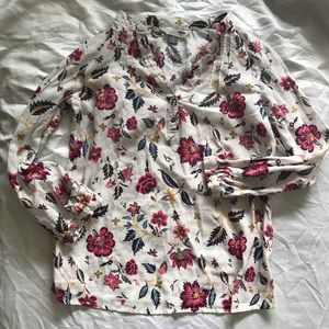 Old navy floral tunic S